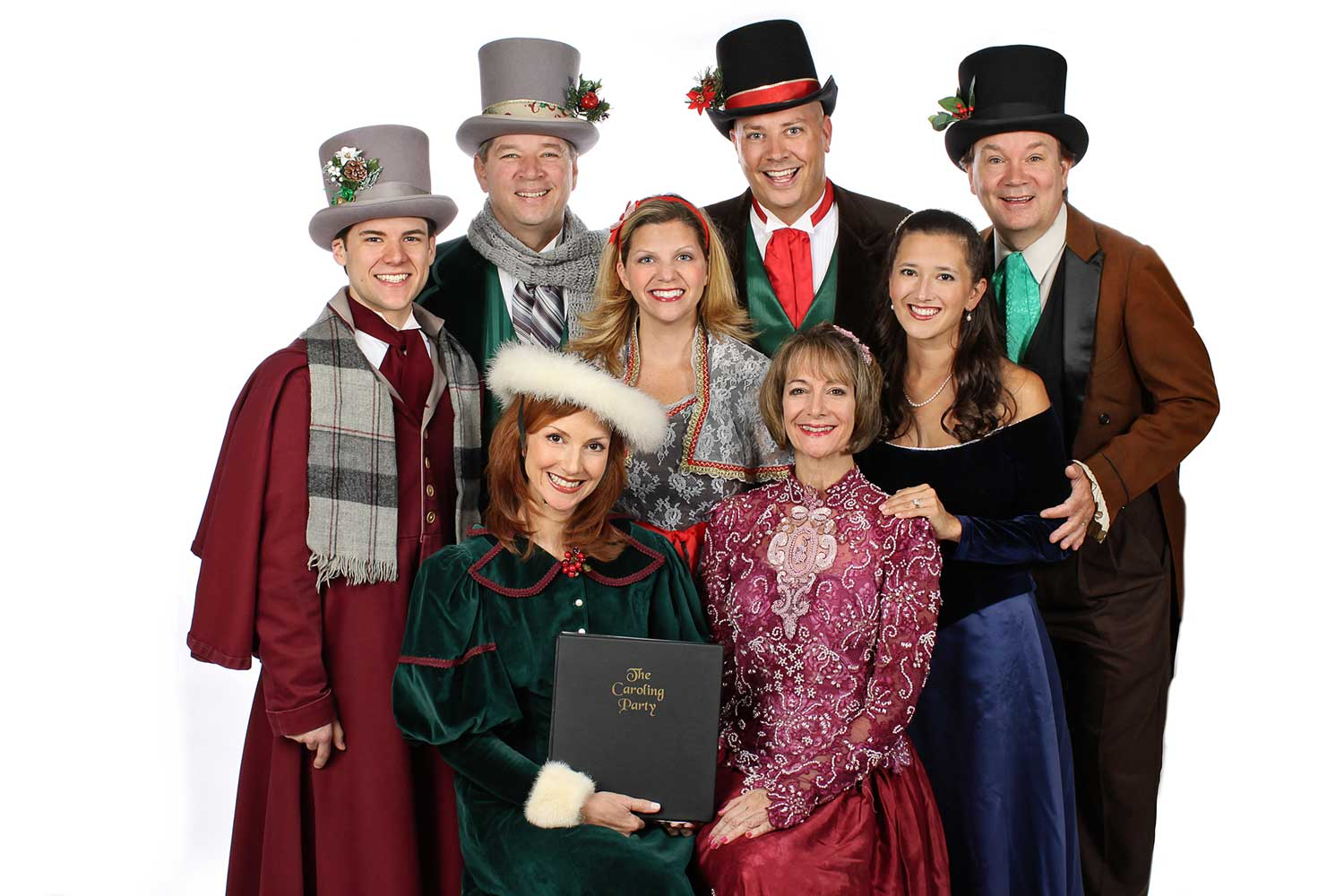members of The Caroling Party